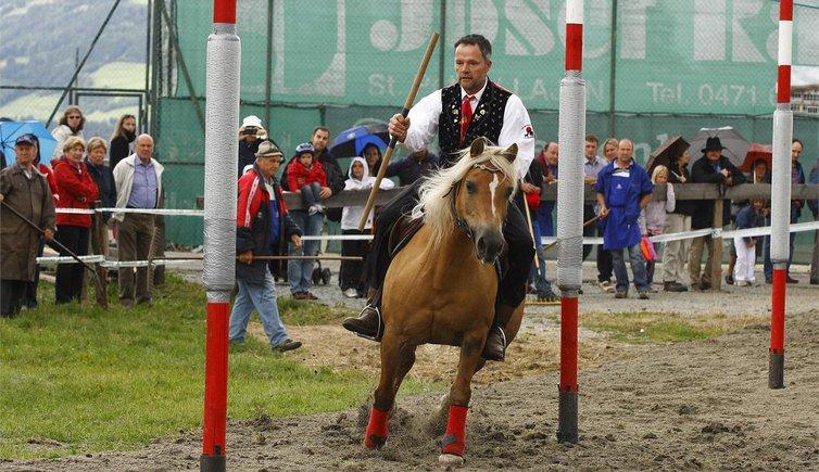 Slalom dei cavalli w v d v laion paese alto adige for Cavalli bolzano